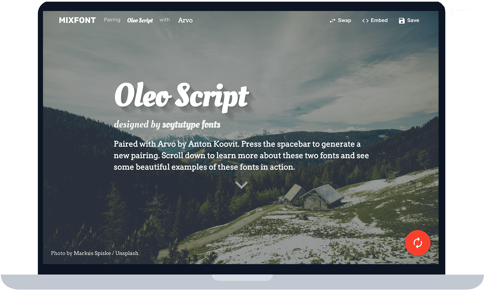 Mixfont | A modern font generator